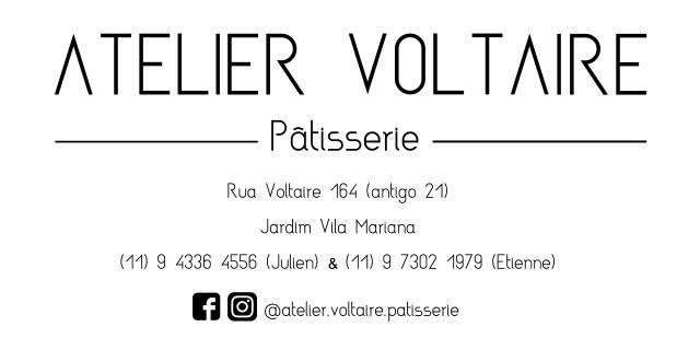 Atelier Voltaire carte de visite