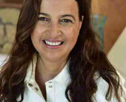 Portrait de Liane Chiaratto Schmitt, Présidente de São Paulo Accueil